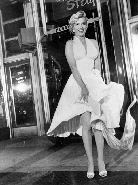 Фото белого платья мэрилин монро