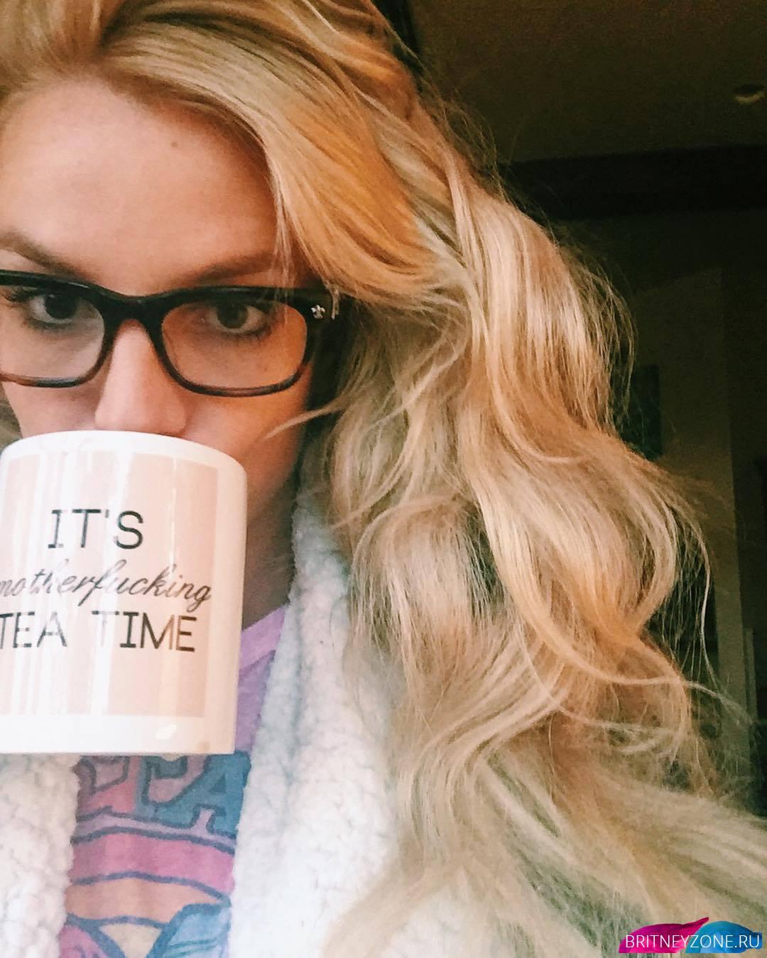 Бритни Спирс нежится напеске вбикини