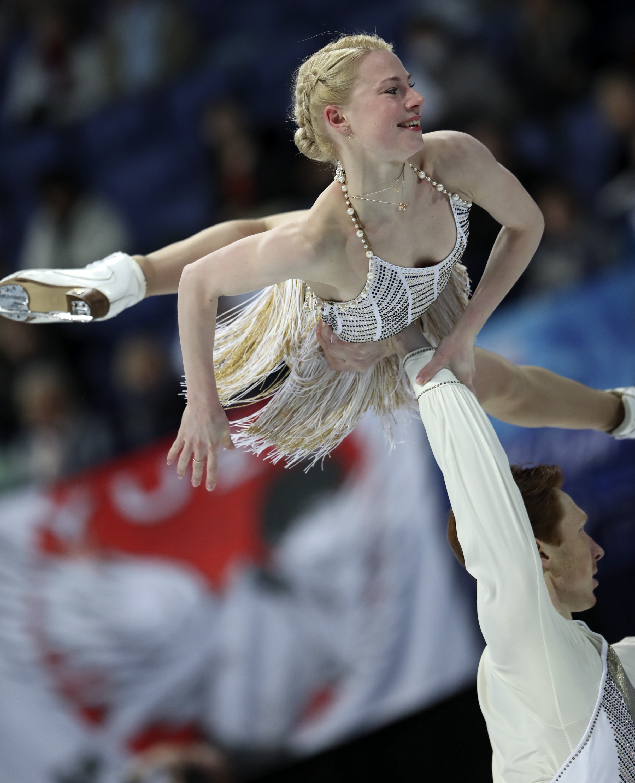 Евгения Тарасова иВладимир Морозов— бронзовые призёры чемпионата мира среди пар