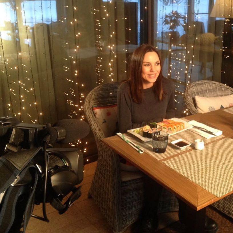 Солистка группы «Блестящие» Надя Ручка ожидает первенца