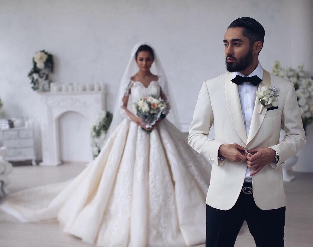 Свадебное платье жены мота