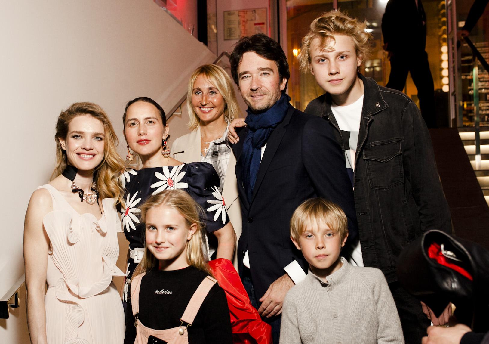 Наталья водянова фото с детьми