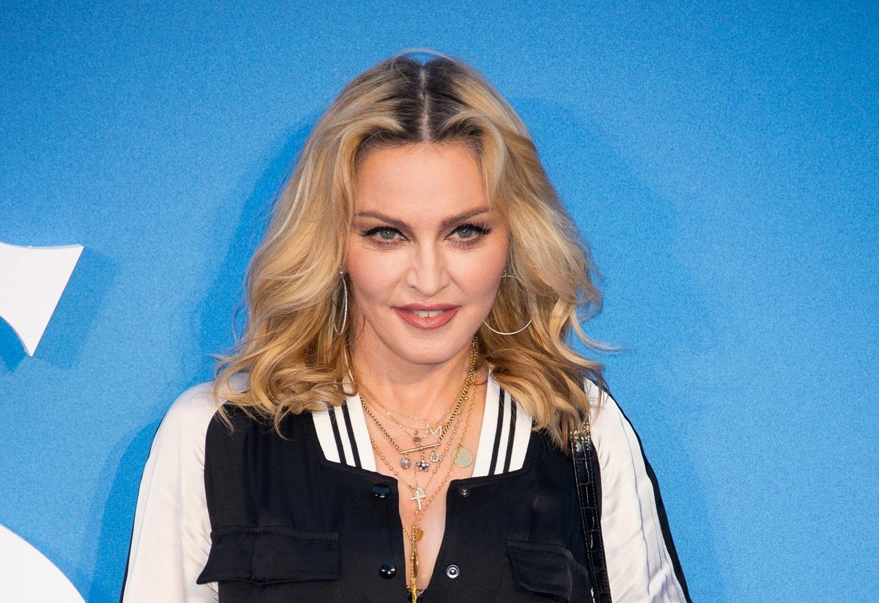 Мадонна фото с макияжем