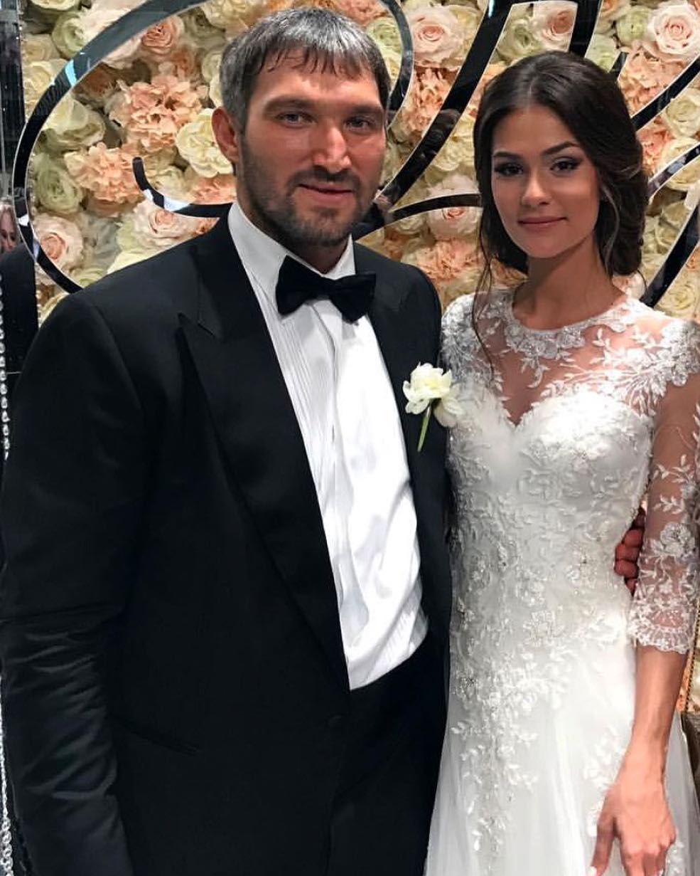Александр Овечкин сыграл свадьбу