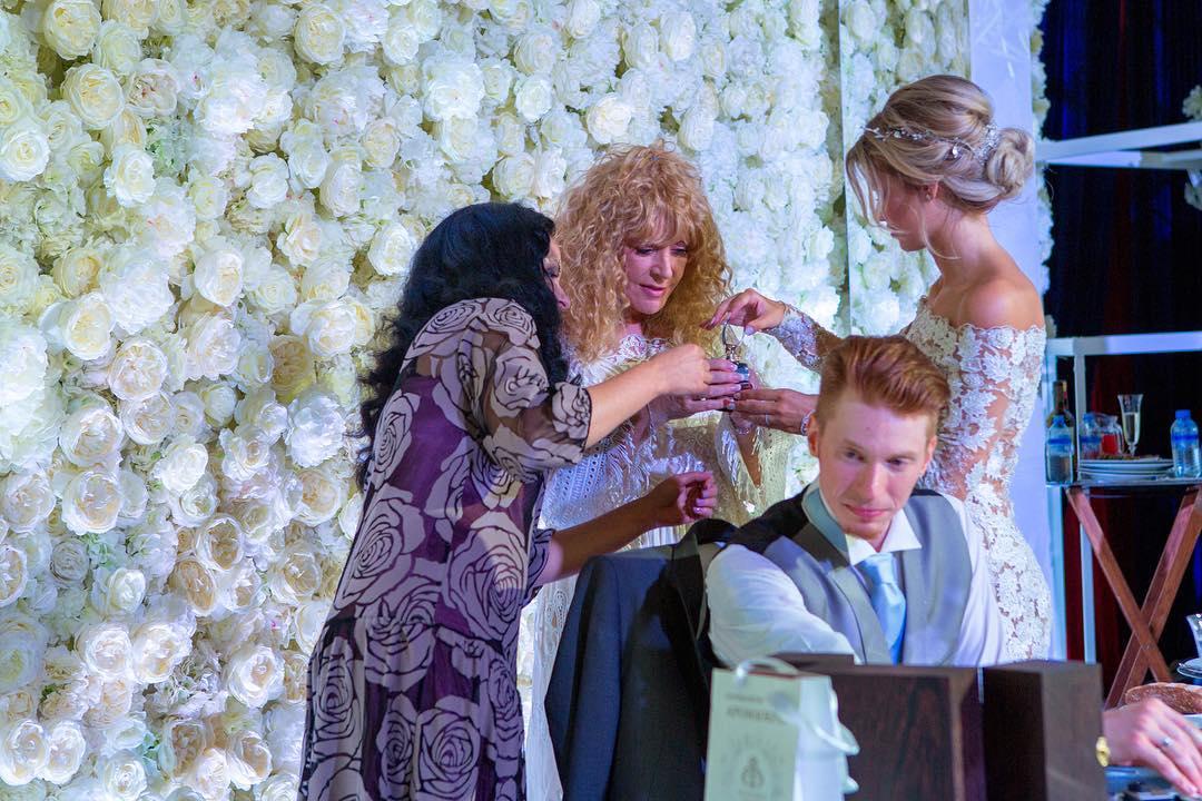Торт на свадьбу никиты преснякова