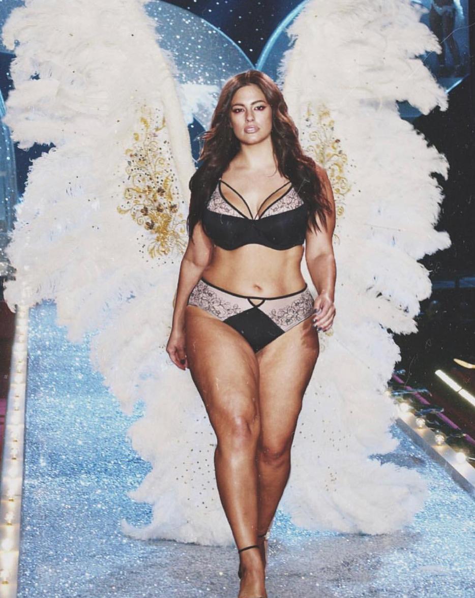 Пышнотелая модель думает стать «ангелом» Victoria's Secret