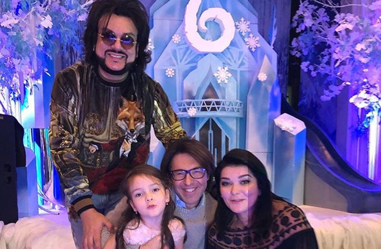 Филипп киркоров и его дети фото 2018 и жена