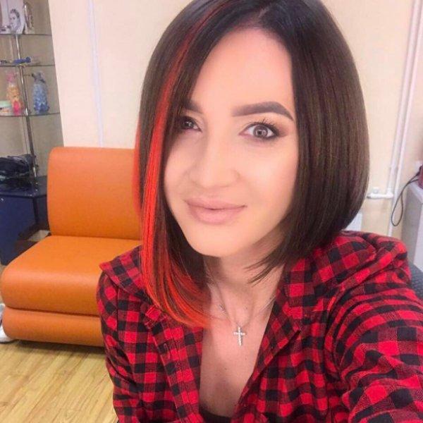 Ольга Бузова из-за одиночества перекрасила волосы всиний цвет