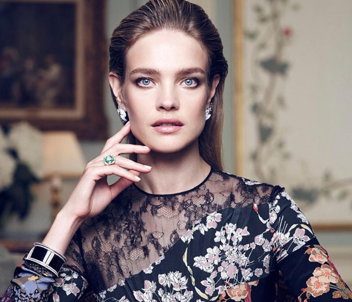 Наталья водянова макияж фото