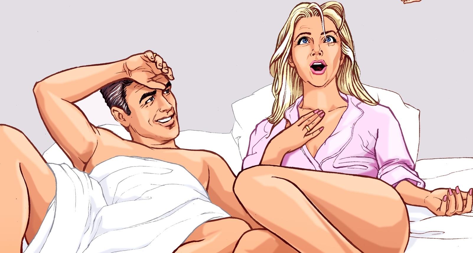 Секс с новым партнершей