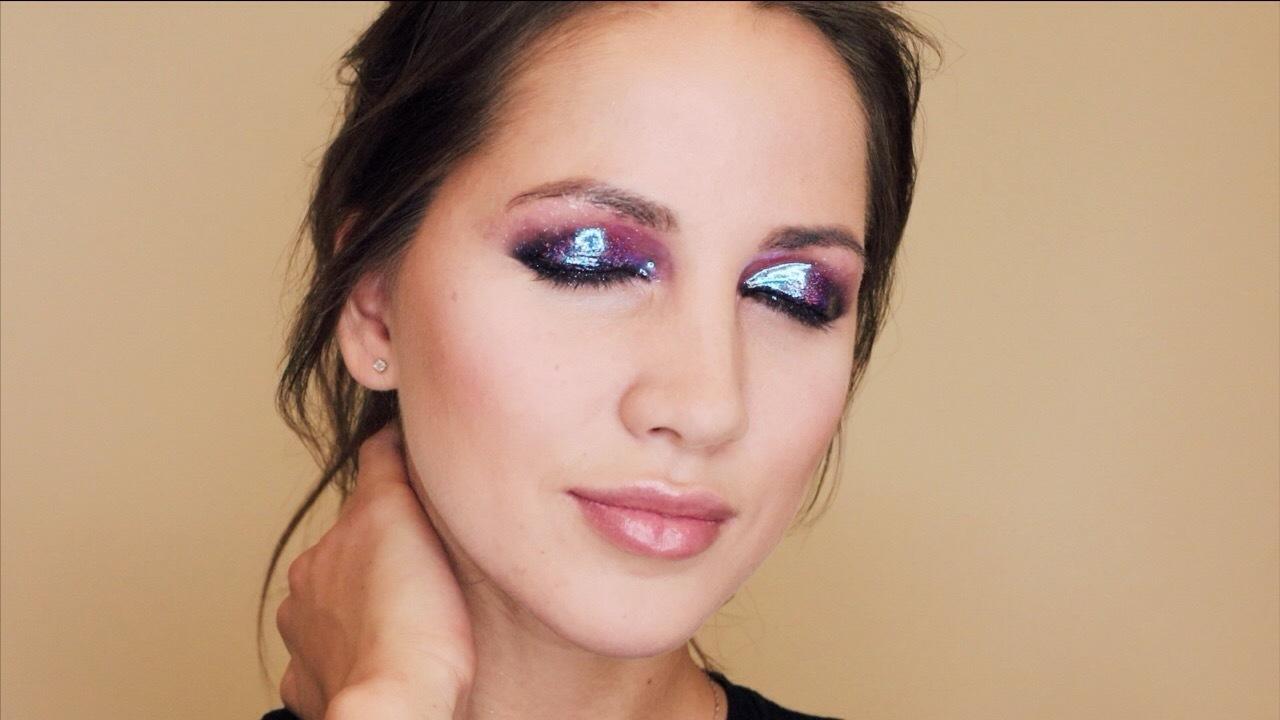 Больше блеска! Как создать сияющий макияж с глиттером