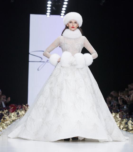 Сказка, которая стала явью: смотрим волшебный показ Speranza Couture by Nadezda Yusupova