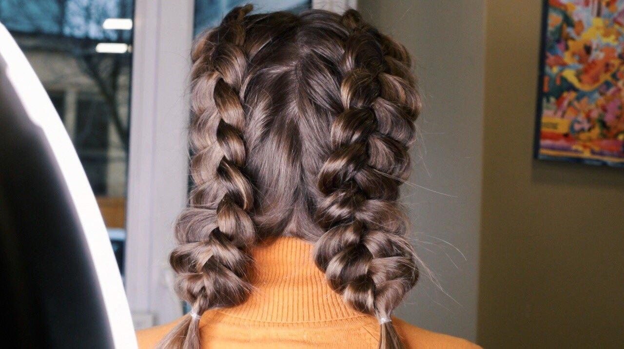 Как заплести ажурные косы: подробная видеоинструкция