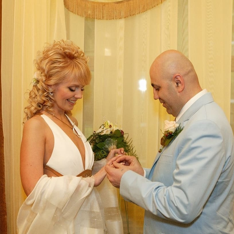 свадебное платье валерии фото
