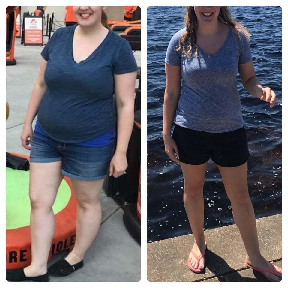 История эффективного похудения