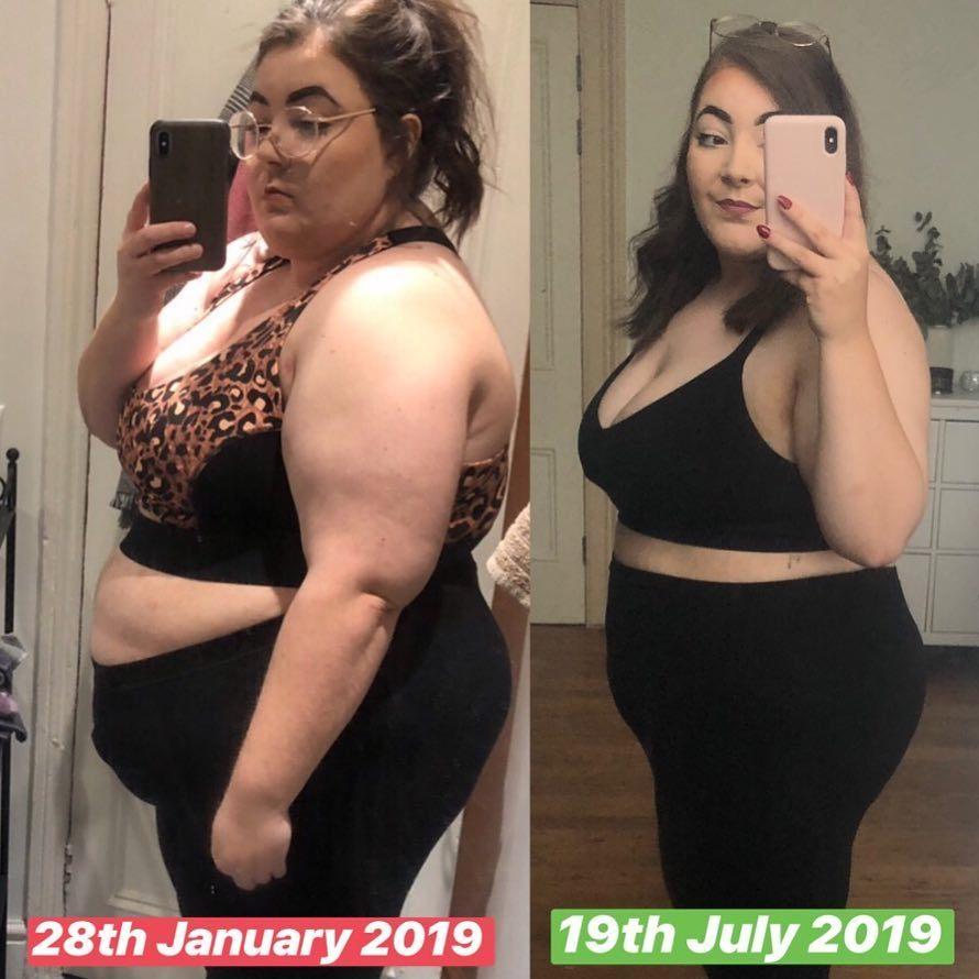 Когда сильно похудела