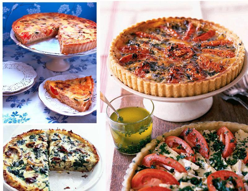 рецепт открытых пирогов