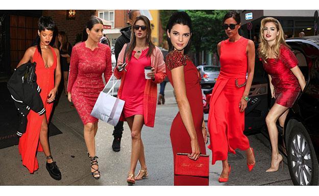 6d799eb9e67 Залились красным  как и с чем носить красное платье