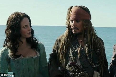 Кая Скоделарио Пираты