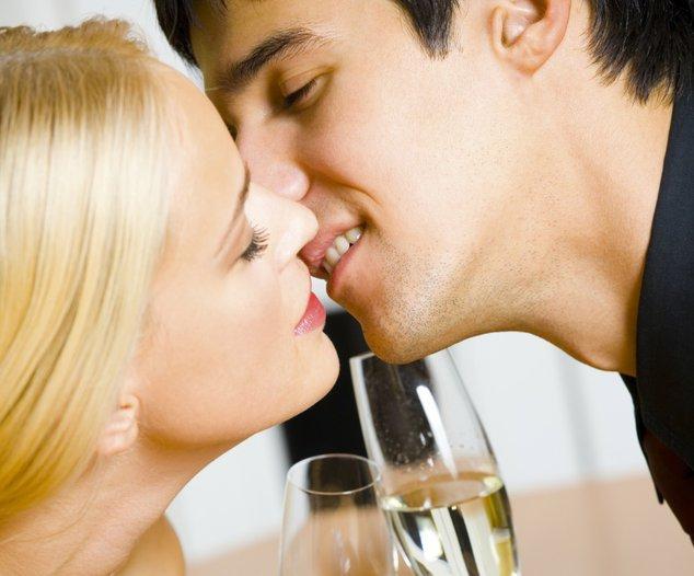 Большинство эротического поцелуя сексуальный