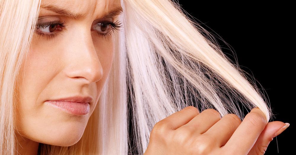 Маска сухих ломких секущихся волос