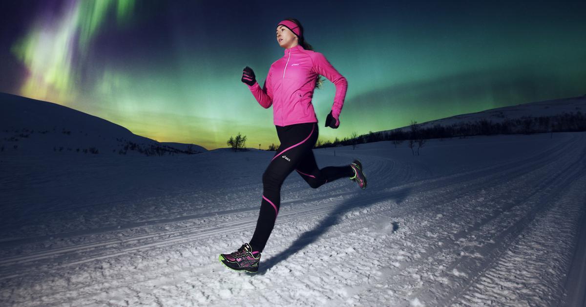 Бег на улице зимой. Как правильно бегать зимой?
