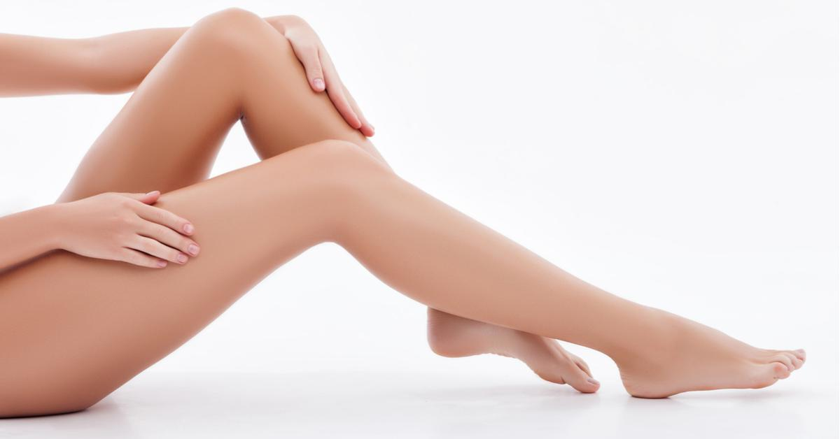 Толстые колени что делать