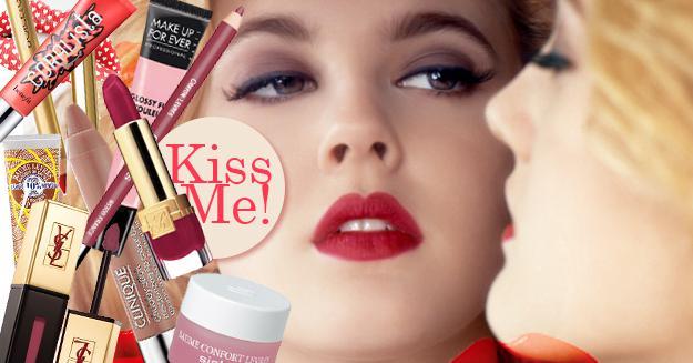 Как сделать макияж губы бантиком thumbnail