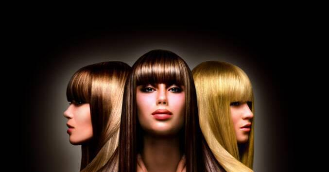 Восстановление кончиков волос